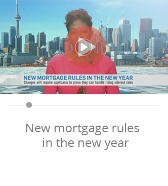 Davelle New mortgage rules in the new year