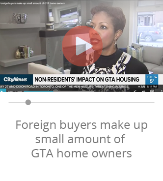 Davelle foreign buyers make up small amount of gta home owners