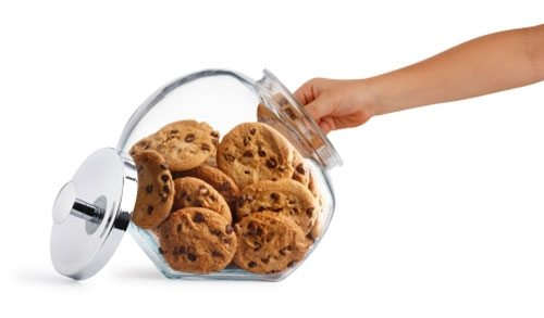 Bank of Canada hand in cookie jar